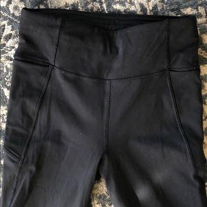 The Final Lap LULULEMON Leggings 4 Black